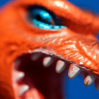 Orange Godzilla