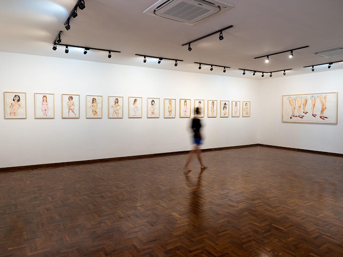 Exhibition view Reckless by Tawan Wattuy