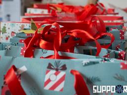 Weihnachtsspenden-Aktion 2020 Übergabe