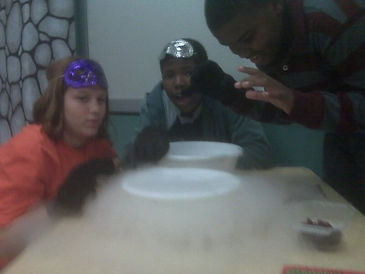 supercold science, dry ice, STEM, STEAM