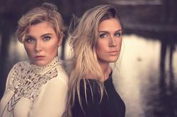 Edie and Leah