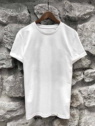 Dámské tričko bez potisku - bílé