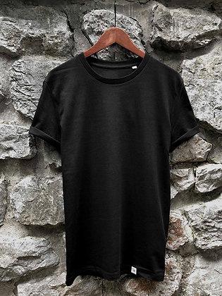 Dámské tričko bez potisku - černé