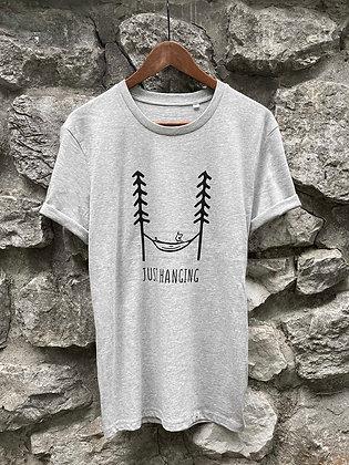 Dámské tričko Just hanging - šedé