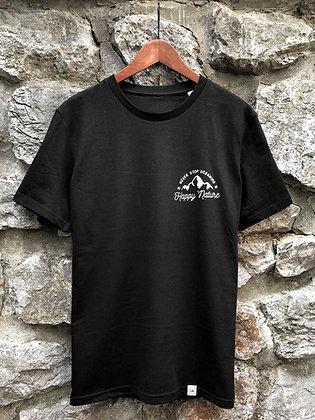 Zachraňte pánské tričko Never stop dreaming - černé