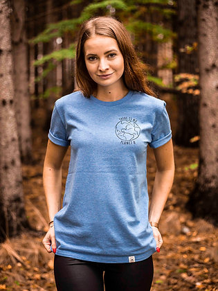 Dámské tričko Planet B - modré