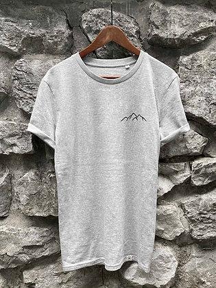 Dámské tričko Hory - šedé