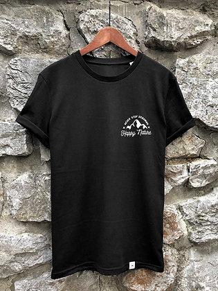 Dámské tričko Never stop dreaming - černé