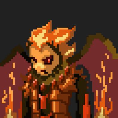 Pixel Art Characterportfolio