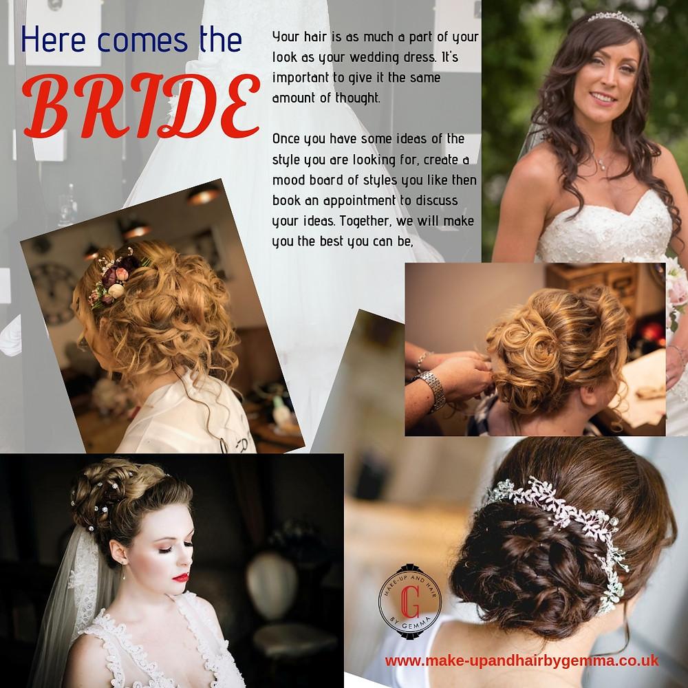 brides hair styles