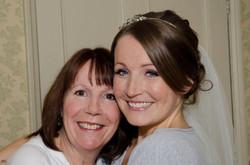 Bridal hair and make up trial