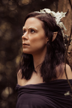 Fairy photo shoot in Warley Woods