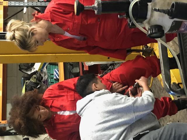 Female Car Mechanics