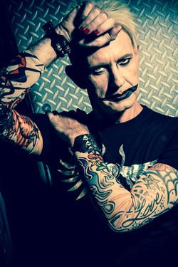 John 5 male make-up