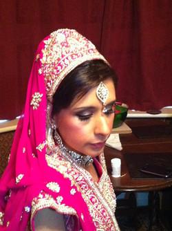 Asian bridal make up