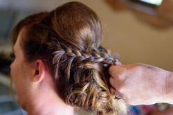 Wedding hair Ibiza 2