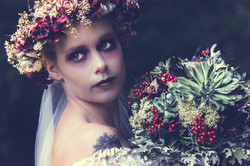 Corpse Bride Make Up