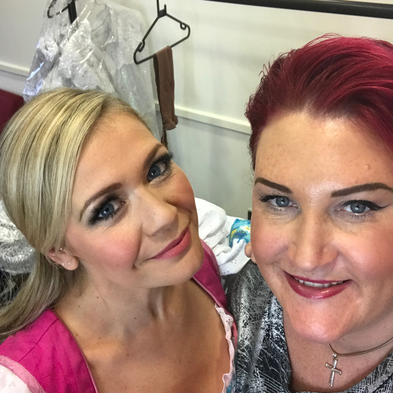 with Suzanne Shaw