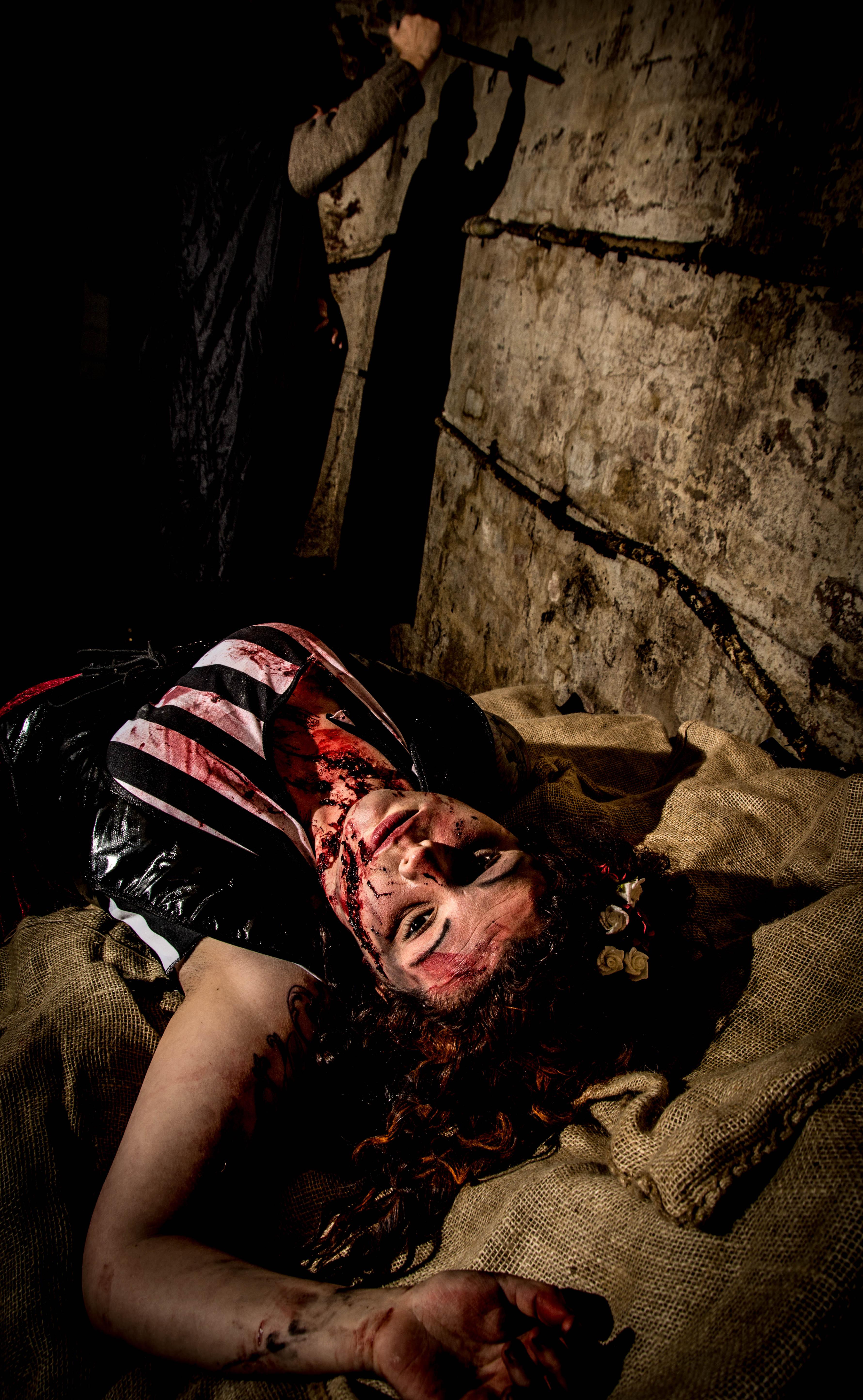 Ripper Victim Halloween Make uo
