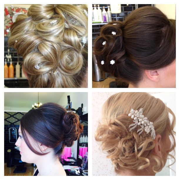 bridal hair creations