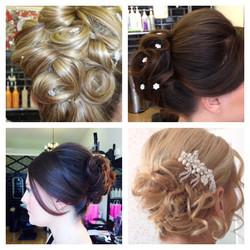 bridal hair creations