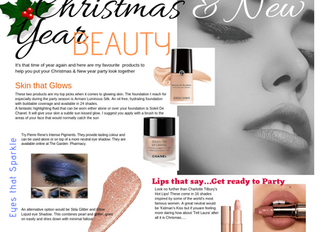 Christmas & New Year Beauty