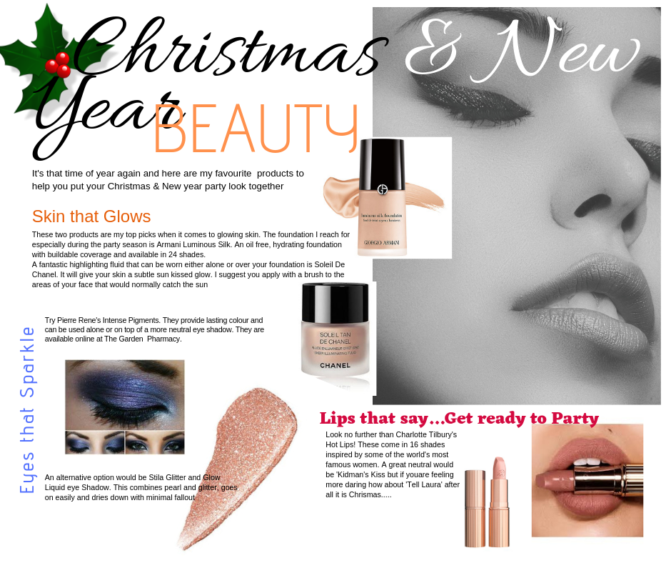 Christmas beauty tips