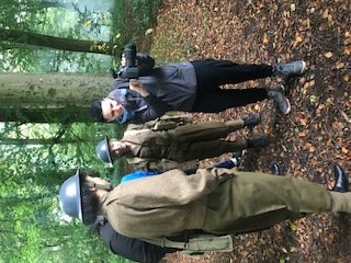 on location with Army Girls