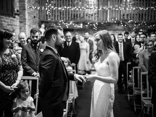 A Winter Wedding at Curradine Barns