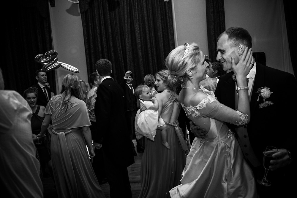 Bride & Groom first dance at Whitbourne Hall wedding