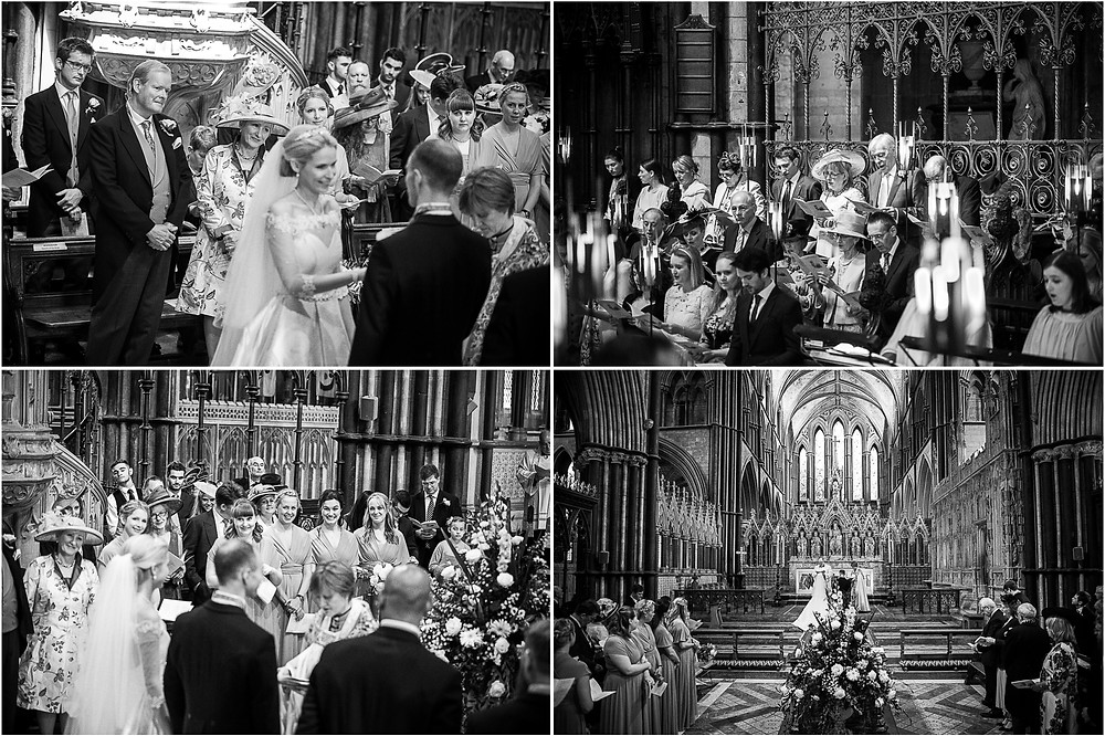 Natural, relaxed images from wedding at Worcester Cathedral