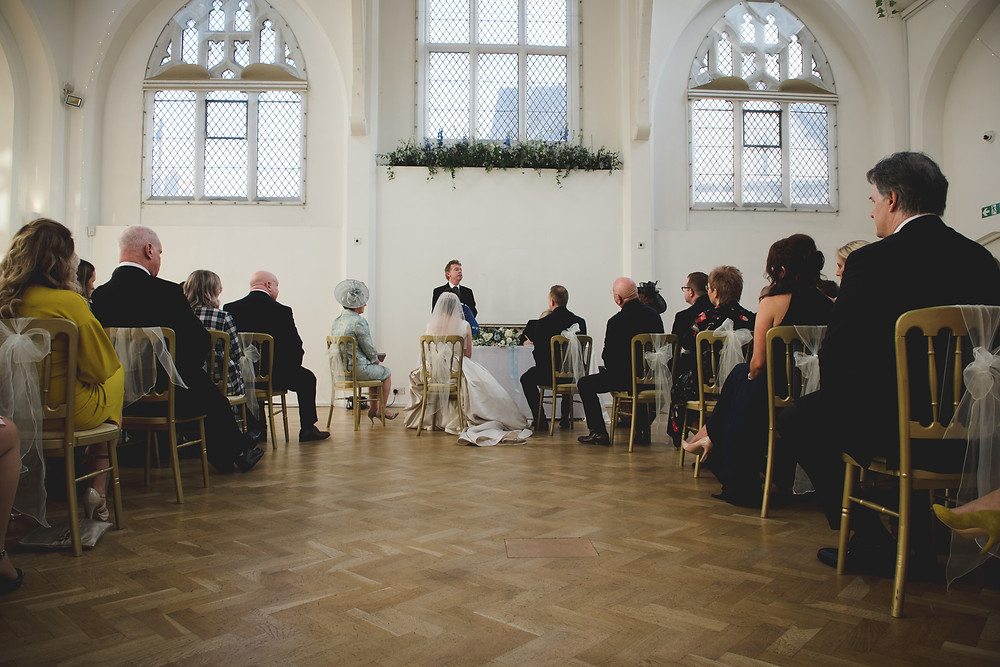 Wedding ceremony at Digbeth Old Library