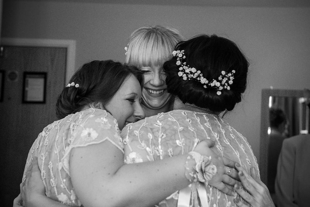 emotional wedding guest at birmingham's electric cinema