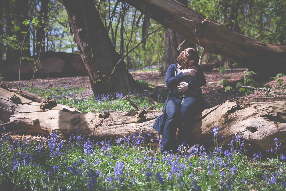 West Midlands Family photography in the Bluebells