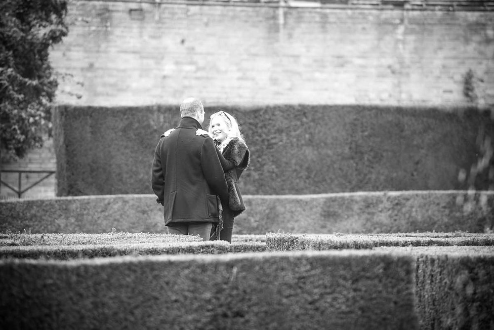 Engagement photography at Whitbourne Hall