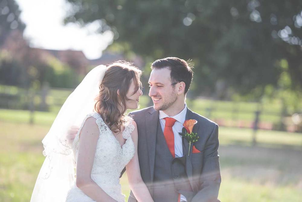 An autumn wedding at Mythe Barn