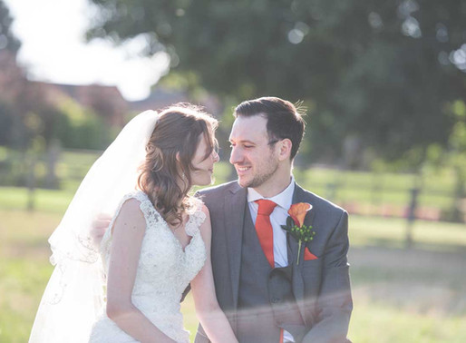 Karly & Ian  | An Autumn Wedding at Mythe Barn, Leicestershire