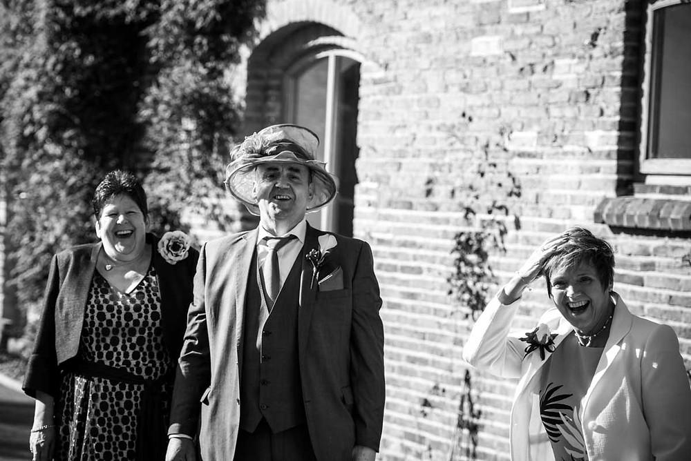 Mythe Barn Documentary wedding photographer