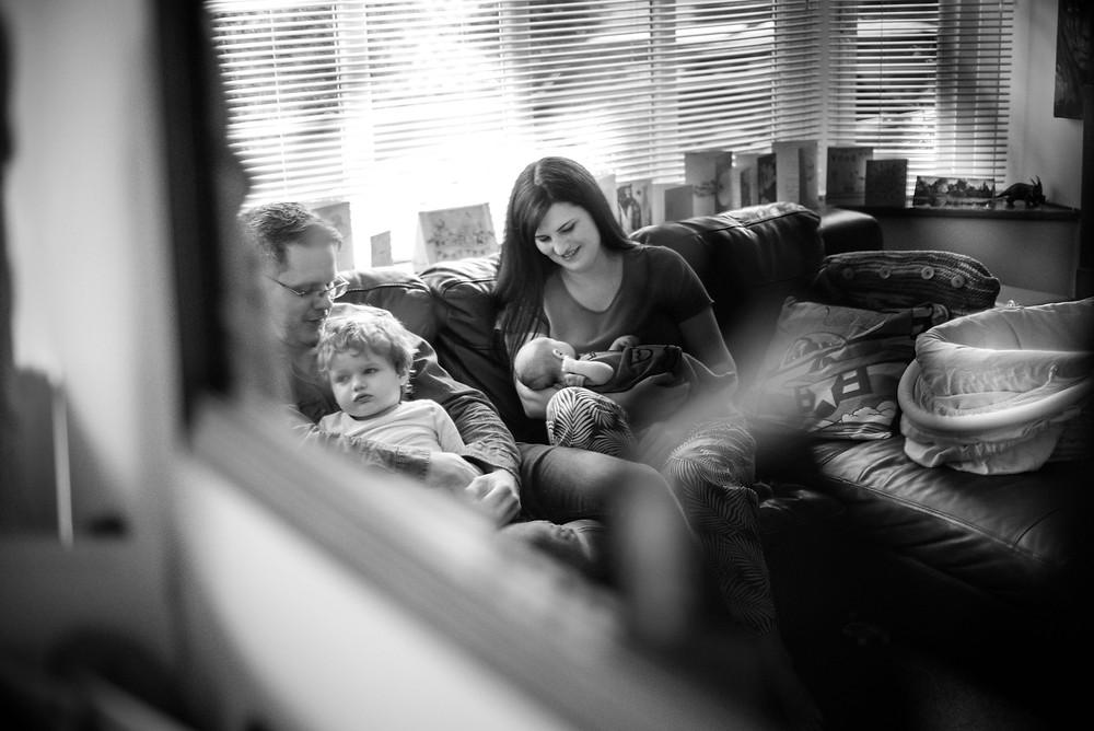 Family photoshoot in Shropshire