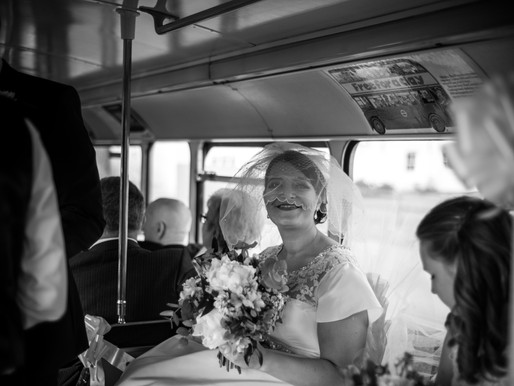 The Bride on the Bus - My favourite Wedding images