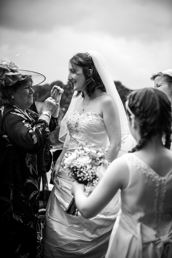 Sugnall WalleD garden Wedding Photography