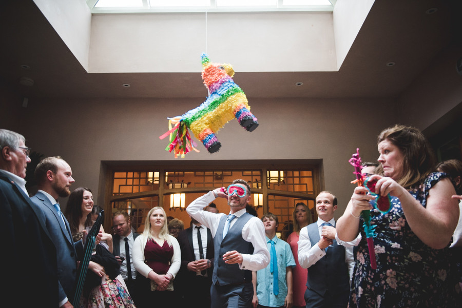 Cotswolds wedding pinata