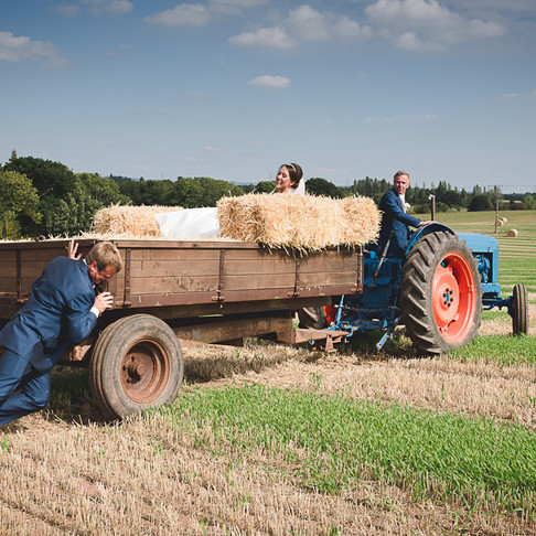 Worcestershire Farm Wedding Photography | Alice & Peter