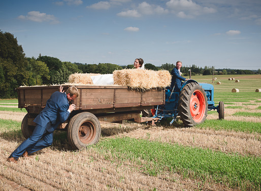 Worcestershire Farm Wedding Photography   Alice & Peter