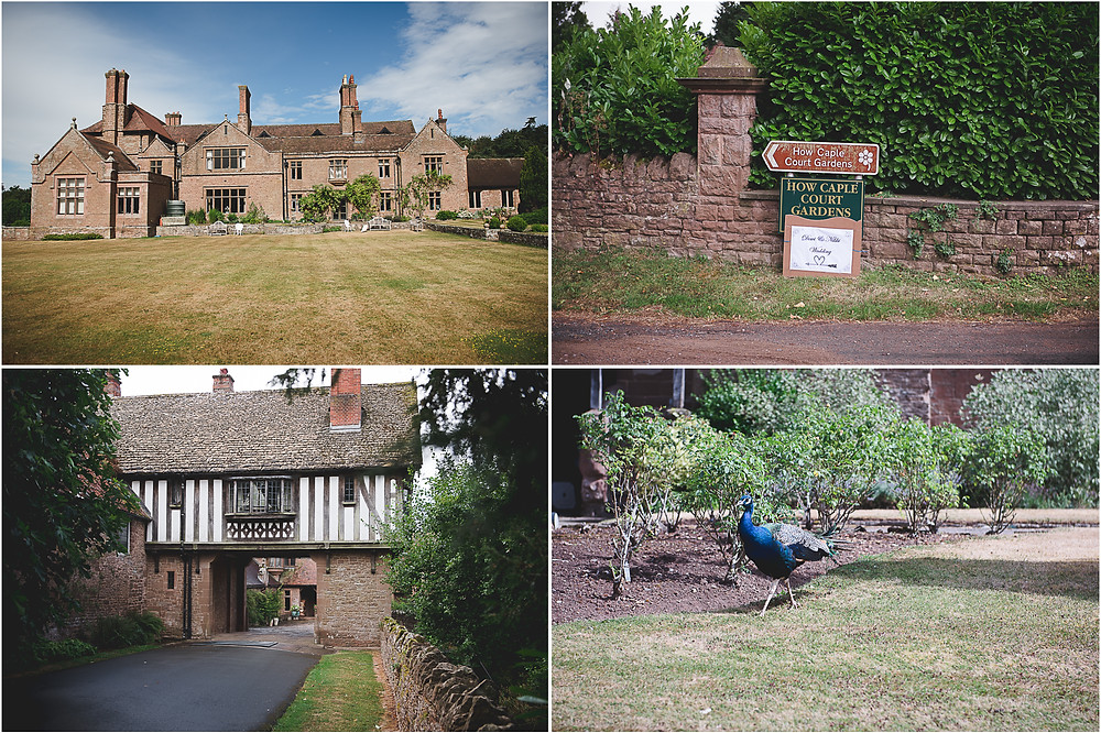 images of How Caple Court, Hereford Wedding venue