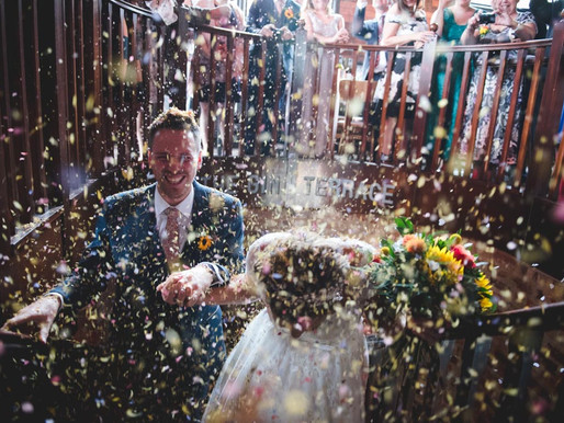 A Cloudburst of Confetti - My favourite Wedding images