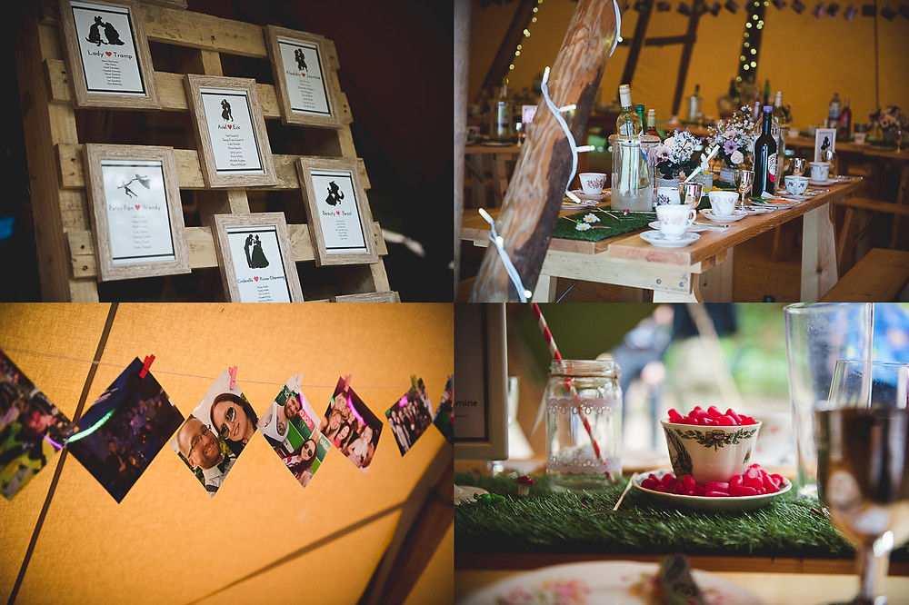 alice in wonderland wedding breakfast