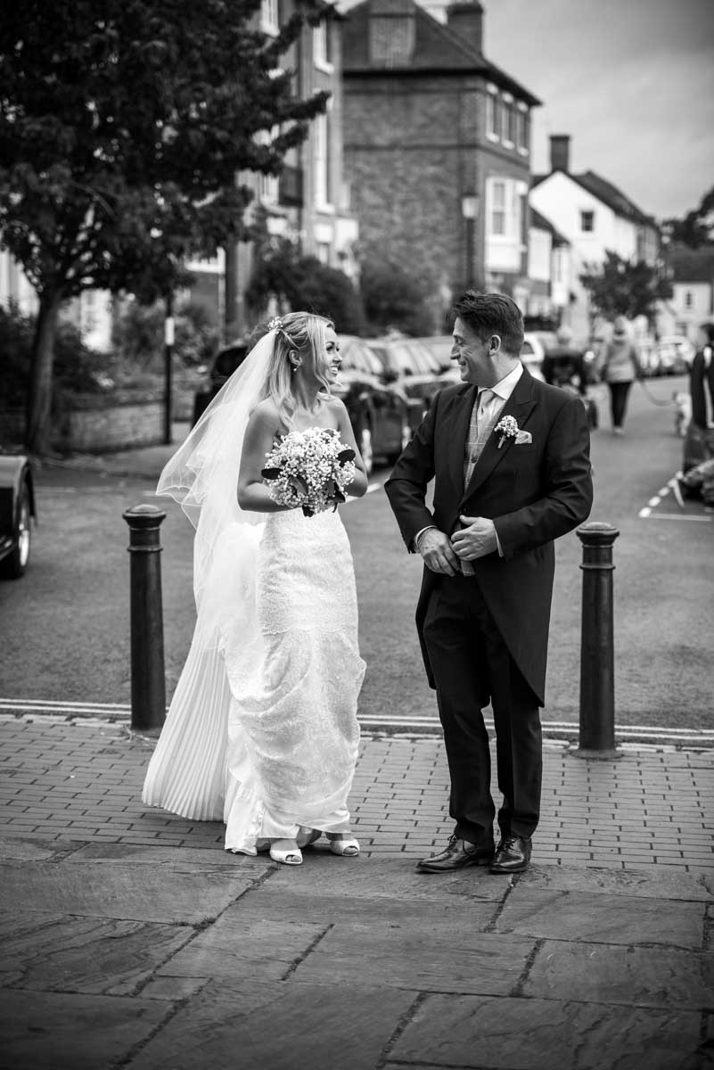 Wedding at St Mary Magdalene Church in Bridgnorth Hightown