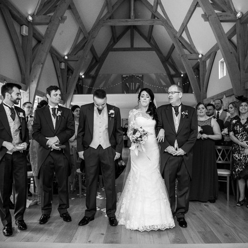 Bridgnorth Barn Wedding Photography | Kim + Oli