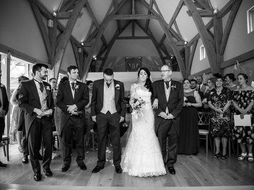 Bridgnorth Barn Wedding Photography | Kim + Oli